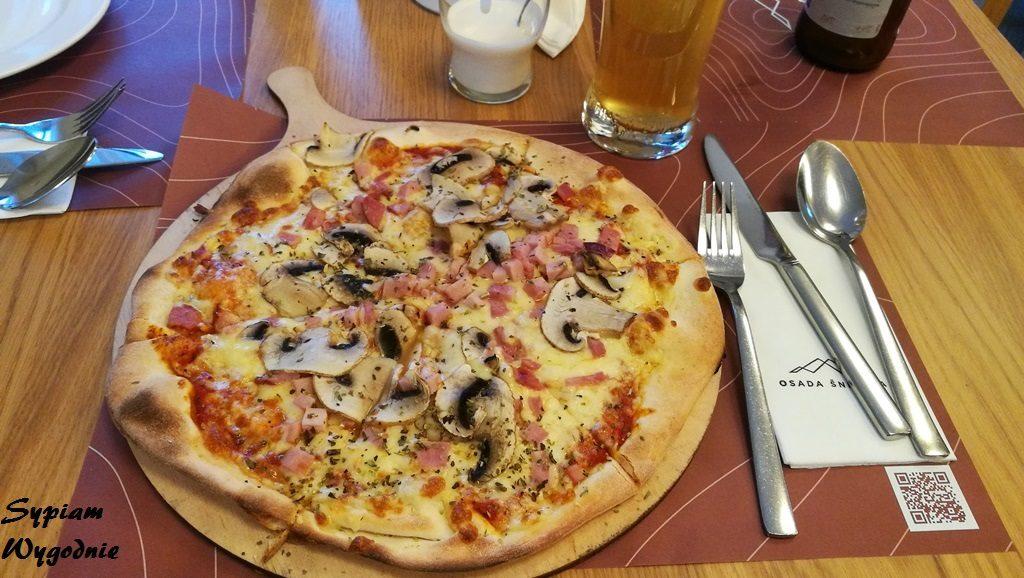 Hotel Osada Śnieżka Karpacz - pizza