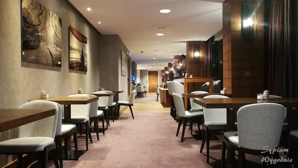 Hilton The Hague - executive lounge