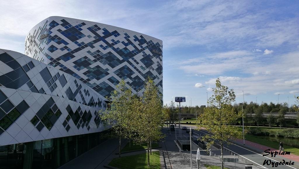 Hilton Amsterdam Airport Schiphol - budynek
