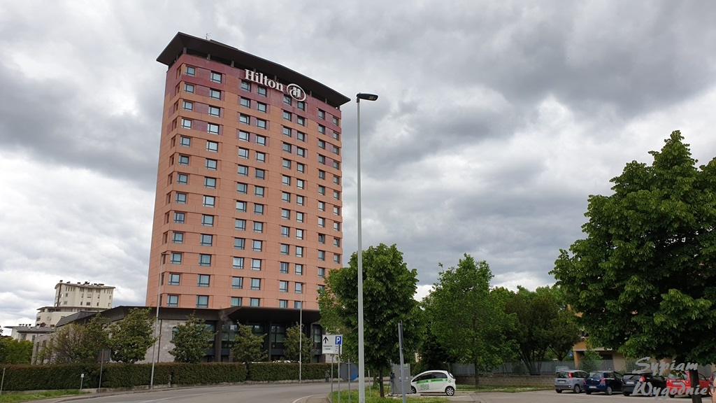 Hilton Florence Metropole - budynek