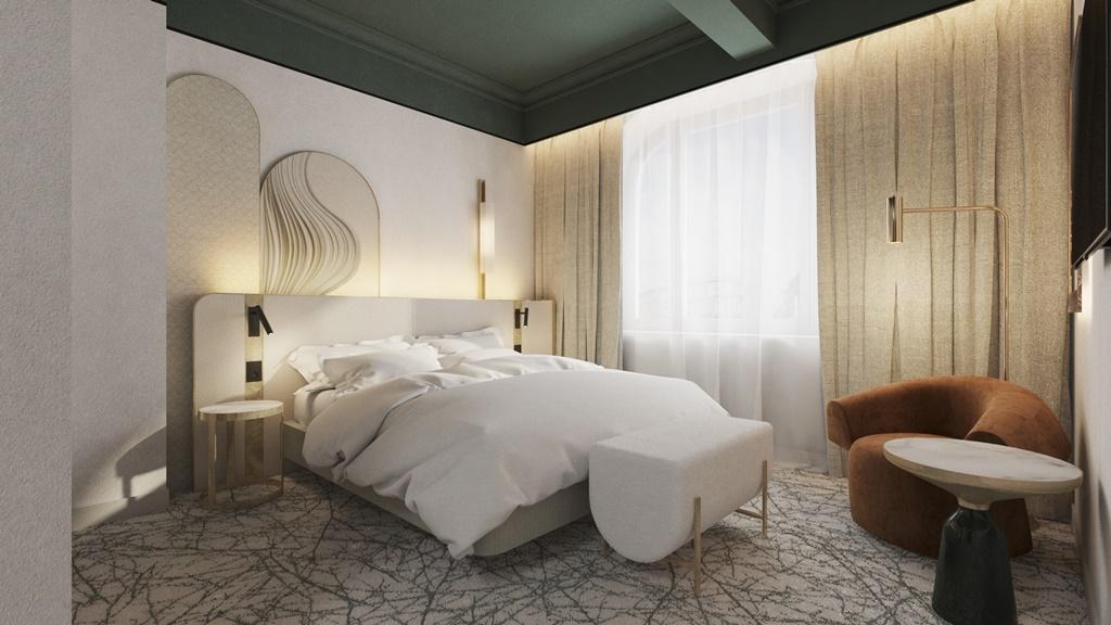 pokój klasyczny w Hotel Rezydent Sopot