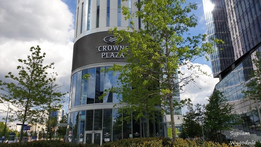 Kompleks The HUB z hotelem Crowne Plaza Warsaw THE HUB